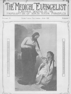 Cover of The Medical Evangelist